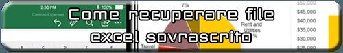 Come recuperare non salvato / sovrascritto File di Excel