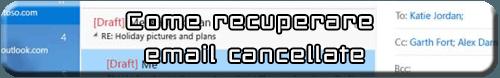 recupero email eliminati