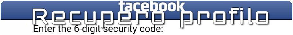 ripristinare facebook cancellato