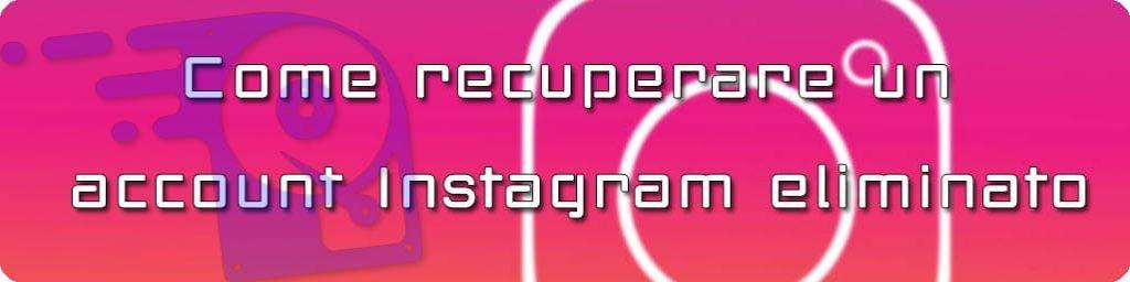 recuperare profilo instagram