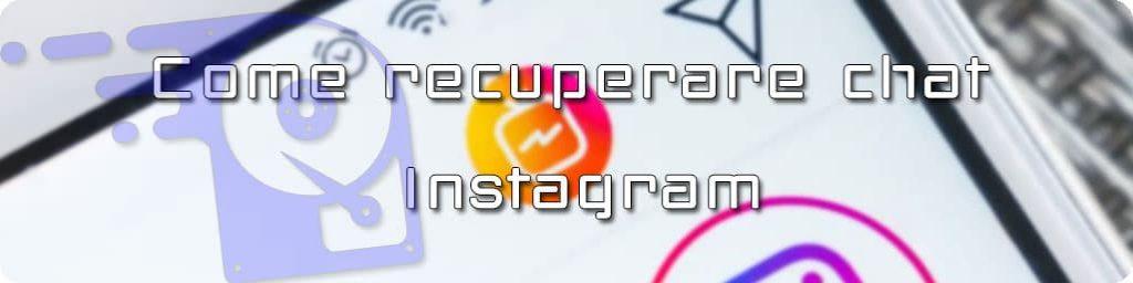 recupero chat instagram