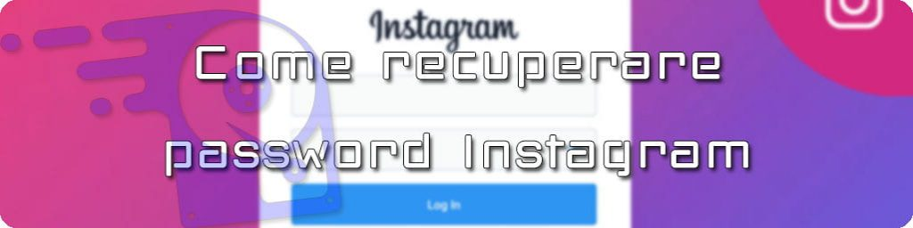 recupero password instagram