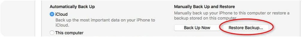 recuperare foto da iphone che non si accende