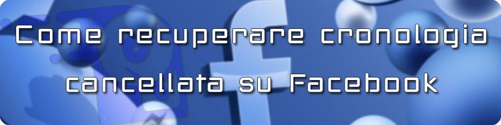 recuperare cronologia ricerche facebook