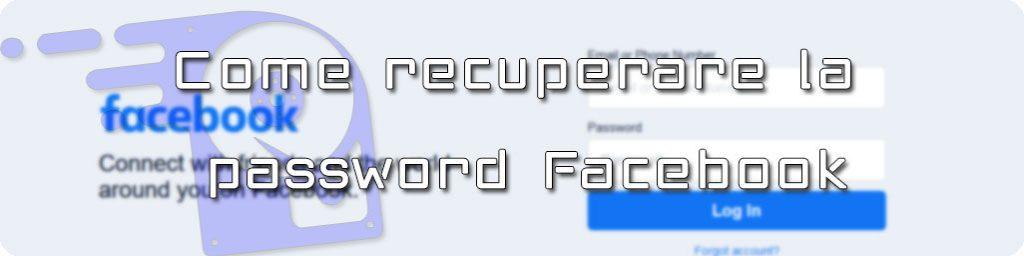 come recuperare password facebook