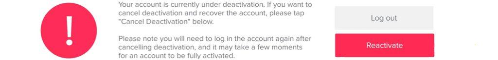 come recuperare un account tiktok bannato