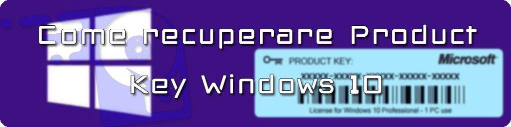 product key windows 10 pro