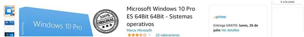 trovare product key windows 10